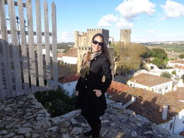 On top of the medieval wall of Obidos. , Claudia A - April 2014