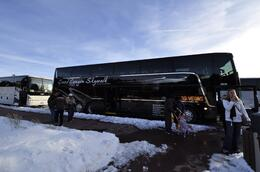 Photo of Las Vegas Grand Canyon South Rim Bus Tour with Optional Upgrades our bus