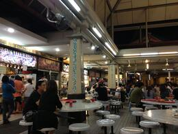 Singapore Hawker Center, Cat - August 2013