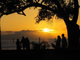 Photo of Maui Old Lahaina Luau Maui Sunset at the Old Lahaina Luau