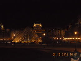 Photo of Paris Paris Evening Tour on an Open-Top Bus The Louvre by night