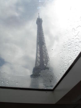 Photo of Paris Seine River Hop-On Hop-Off Sightseeing Cruise in Paris view of Eiffel tower from the boat