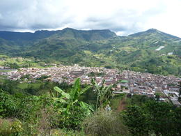 Photo of Medellín Jardín Day Trip: Colombian Coffee and Sightseeing Tour from Medellín View of Jardin from above