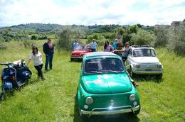 Photo of Florence Self-Drive Vintage Fiat 500 Tour from Florence: Tuscan Hills and Italian Cuisine Vintage Fiat 500 Driving Tour
