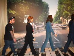 With the legendary Beatles, Rose - May 2012