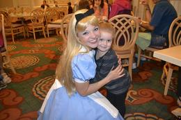 Photo of Orlando Disney Character Breakfast at Chef Mickey's Disney Contemporary Resort Alice In Wonderland