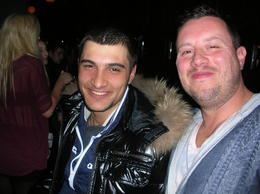Brad with the pickpocket who we mended the errors of his ways!!!! , Jarrod G - March 2011