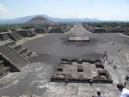 Photo of Mexico City Teotihuacan Pyramids and Shrine of Guadalupe Avenue of the dead