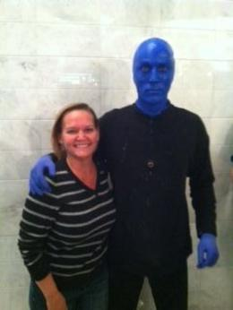 Blue Men really do exist!, Nicks - May 2012