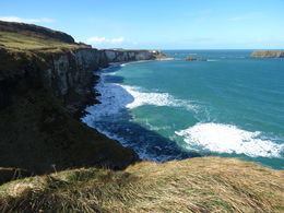 Photo of Dublin Giant's Causeway Day Trip from Dublin Carrick-a-Rede Rope Bridge