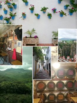 Nice mountains, Ronda walkabouts, bull ring, wine tasting ... , Agata S - May 2016