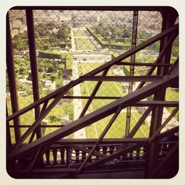 Inside the Eiffel Tower, Ryan & Asha - April 2013