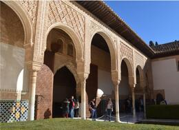 Photo of Malaga Granada Day Trip from Malaga, including the Alhambra Palace and Generalife Gardens Granada courtyard