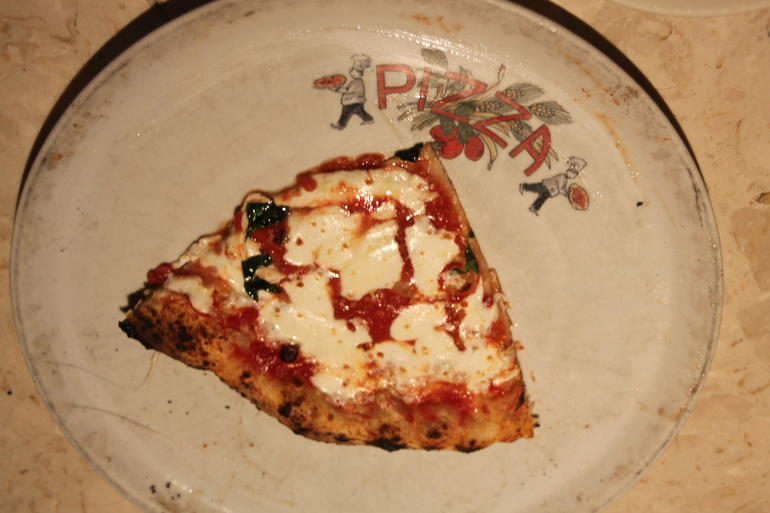 Margherita pizza from Keste in the Village - New York City