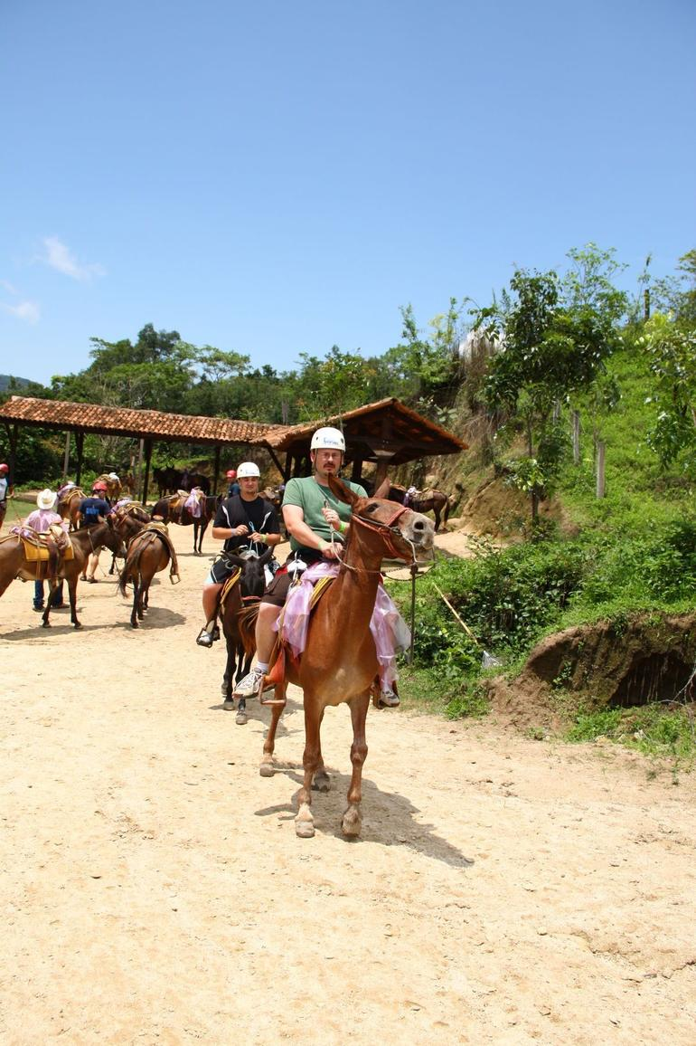 Mule ride - Puerto Vallarta