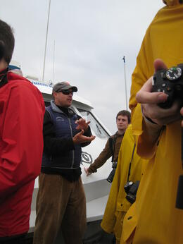 Photo of San Francisco Whale Watching & Wildlife Eco Tour from San Francisco One of the 2 naturalists