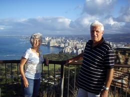 Photo of Oahu Diamond Head Crater Sunrise Small Group Adventure Overlooking Waikiki