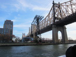 Photo of New York City New York CityPass passing under the Ed Koch Queensboro Bridge