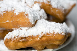 Photo of   Plate of Hot Beignets, New Orleans