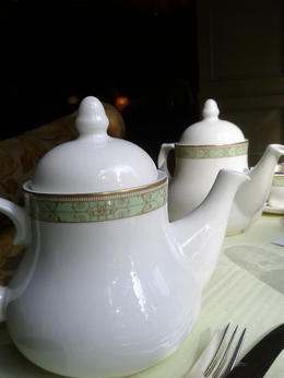 Photo of London London Afternoon Tea at Grosvenor House Teapots