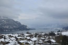 This is up in the glacier-fed lakes near Mondsee , Daniele D C - February 2013