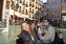gondola ride in venice , Imelda T - October 2015