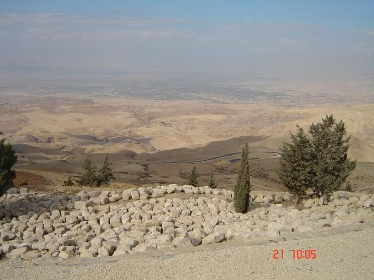 View from Mount Nebo - Amman