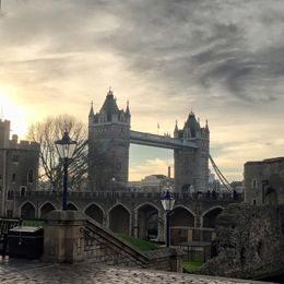 view on Tower bridge , Elena K - February 2016