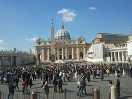 Photo of Rome Skip the Line: Vatican Museums, Sistine Chapel and St Peter's Basilica Half-Day Walking Tour vista vaticano
