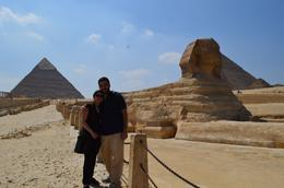 Photo of Cairo Private Tour: Giza Pyramids, Sphinx, Memphis, Sakkara with the sphinx and the pyramids