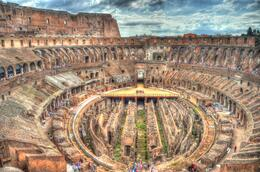 Photo of Rome Small-Group Ancient Rome and Colosseum Tour: Underground Chambers, Arena and Upper Tier 20120916_103121_DSC_7902_3_4_5_6_tonemapped