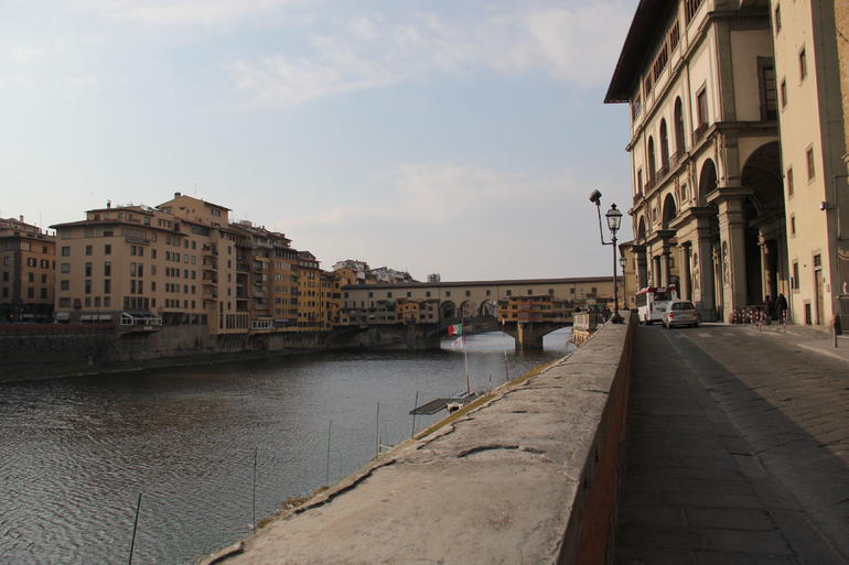 Arno and Ponte Vecchio - Florence