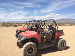 Photo of Las Vegas Hidden Valley and Primm Valley Extreme RZR Tour from Las Vegas After the fun ride