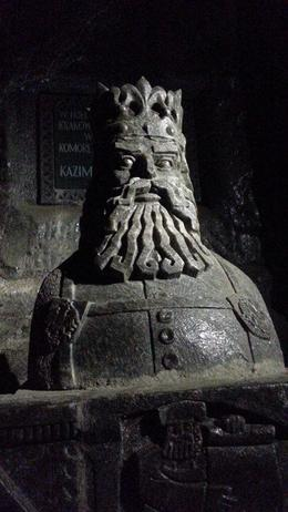 Photo of Krakow Wieliczka Salt Mine Half-Day Trip from Krakow King's Statue