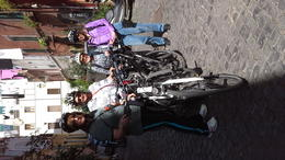 Photo of Rome Rome City Bike Tour little alleyway on our cycling tour