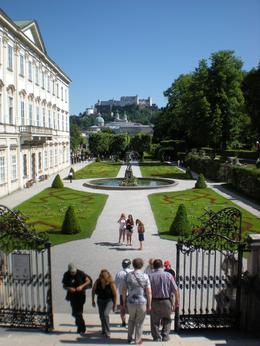 Mirabell Garden - a view to the gates and the pegasus fountain., Alexandru B - June 2010