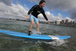 Photo of Oahu Oahu Surf Lessons: Class and Equipment at Ala Moana Beach with Round-Trip Transport Not a natural
