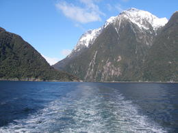 Foto von Queenstown Full-Day Milford Sound and Fiordland National Park Tour including Milford Sound Cruise and BBQ Lunch from Queenstown on the cruise