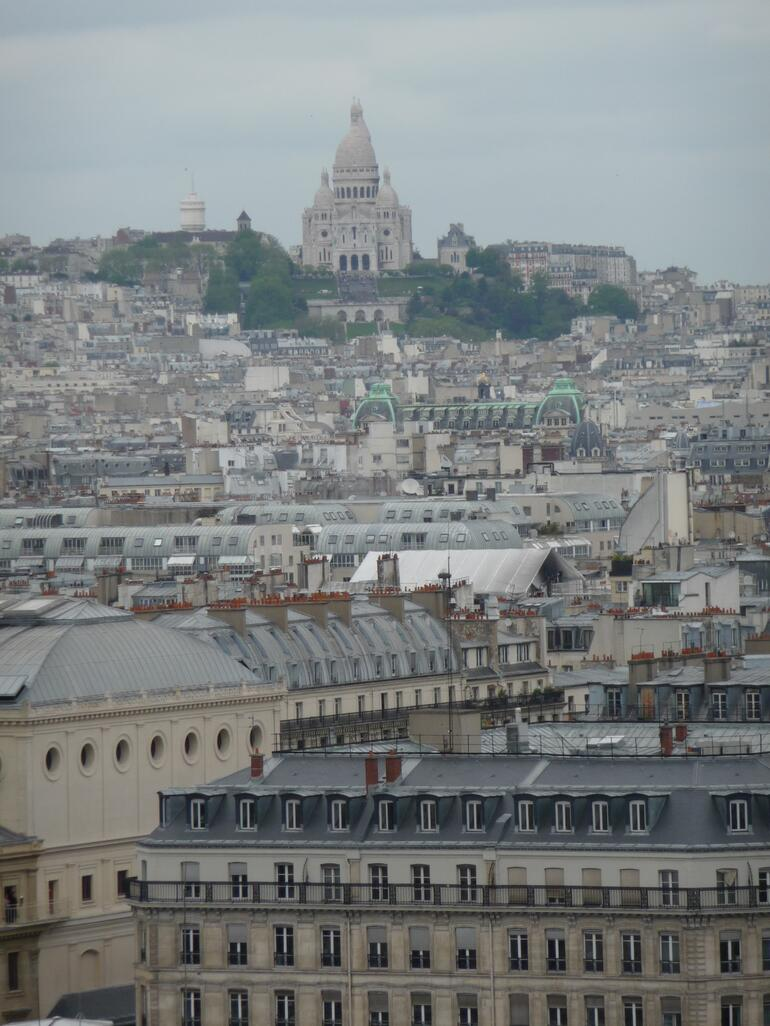 Paris roof tops and the Sacre Coeur - Paris