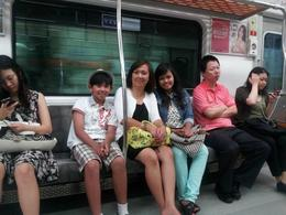 Riding the underground with the locals!, euniceg - August 2012
