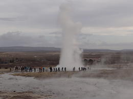 Photo of Reykjavik Gulfoss and Geysir Express Half-Day Trip from Reykjavik Strokkur.