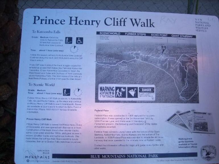 The Prince Henry Cliff Walk - Sydney
