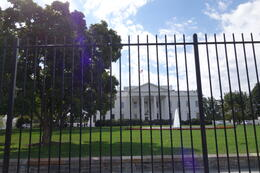 Outside the White House , Sherry G - October 2014