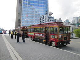 Photo of Vancouver Vancouver Trolley Hop-on Hop-off Tour Up-on up-off bus