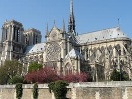 Photo of Paris Paris in One Day Sightseeing Tour View from outside of Notre Dame Cathedral