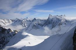 Photo of Geneva Chamonix and Mont Blanc Alps in December