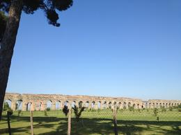 Photo of Rome Ancient Appian Way, Catacombs and Roman Countryside Bike Tour An Ancient Viaduct