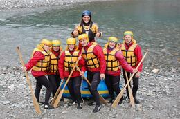 Photo of Queenstown Queenstown Shotover River White Water Rafting Before we got in