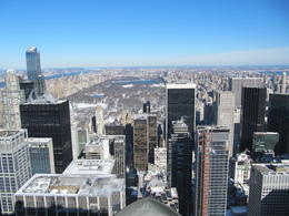 Photo of New York City Top of the Rock Observation Deck, New York Blick auf den Central-Park