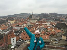 Amazing view of Cesky Krumlov , G - April 2015